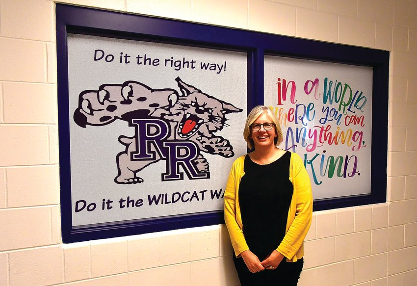 Laura Kuzniar is beginning her first year as River Ridge Elementary School principal after seven years as counselor.