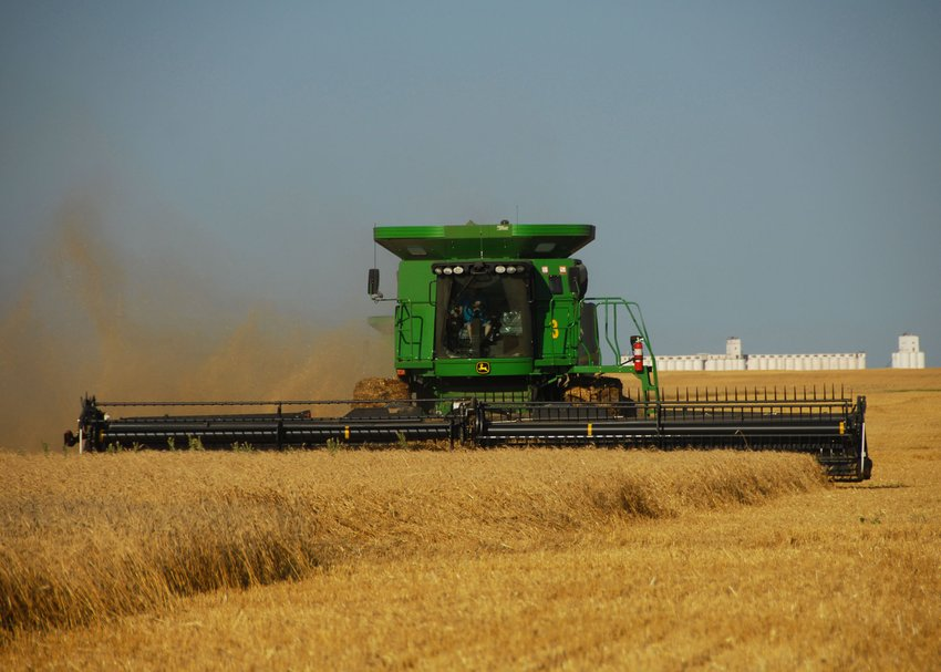 Oklahoma's annual wheat harvest is an agricultural activity that benefits from knowing custom rates for a given area.