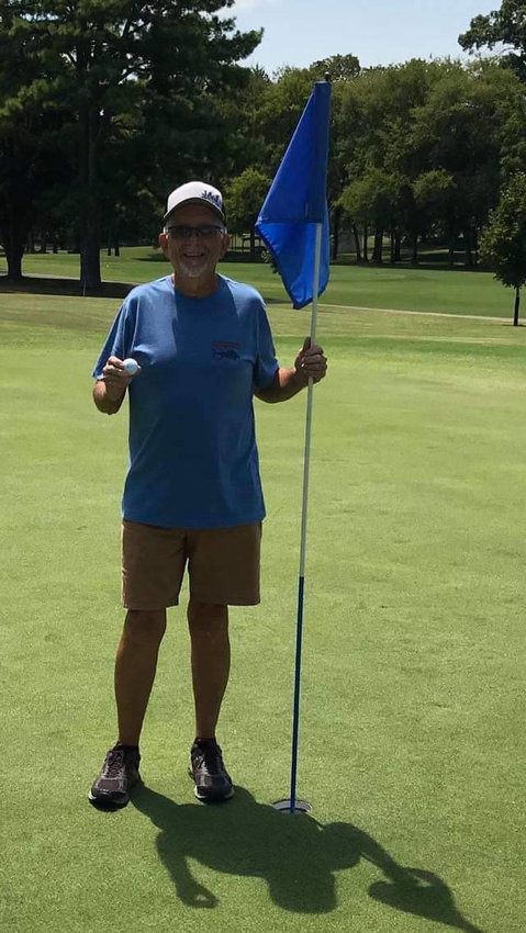 Lewisburg's Doug Taylor recorded his second career hole in one when he aced the par-3 seventh hole on the Ewell Butler Golf Course on the grounds of the Lewisburg Recreation Center on Friday. Taylor used a 6-iron on the 150-yard hole and was playing with Kendall Hollingsworth and Pat Stanley.