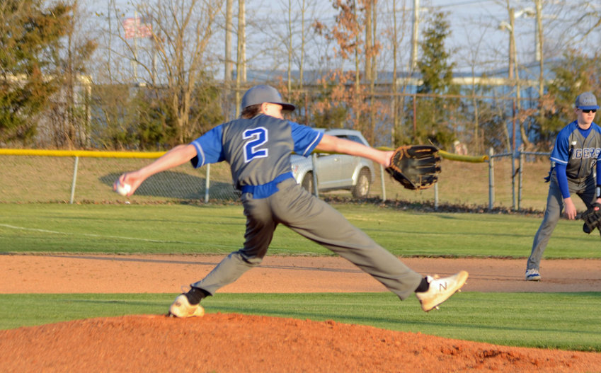 Eli Cross (2) tossed a complete game, two-hitter and struck out six Spring Hill batters to lead the Tigers to a 5-1 win over the Generals.