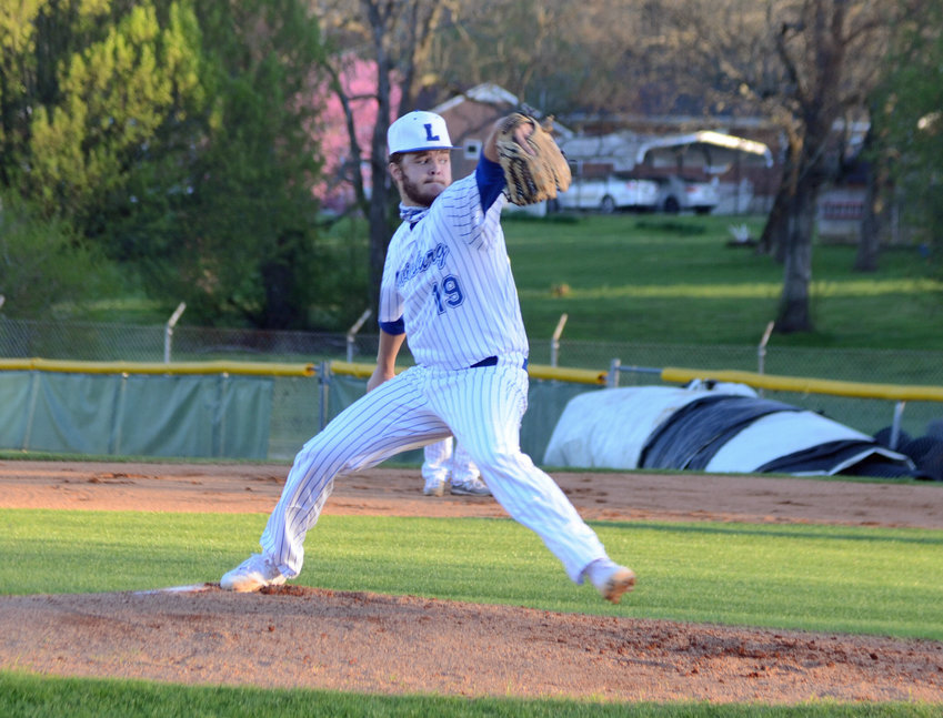 Carson Cheek picked up the win on the mound for the Tigers, giving up one unearned run on four hits, while striking out eight and walking three Community batters.