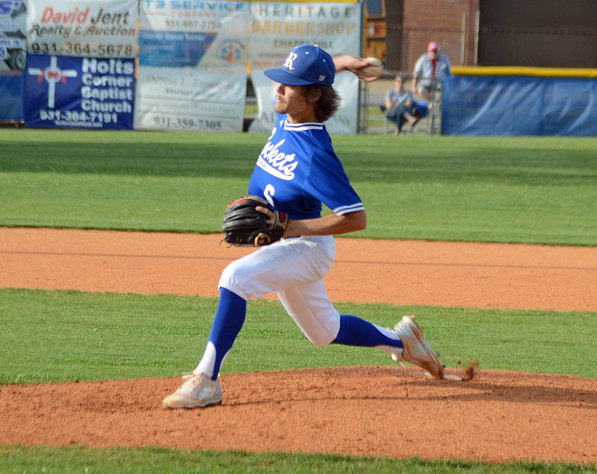 Forrest senior Justin Gillespie tossed a one-hit shutout and came within one out of a perfect game Friday at Chapel Hill versus Cornersville.