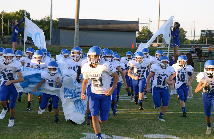 The Rockets run out at Cascade where they shutout the Champions 44-0 Thursday night.