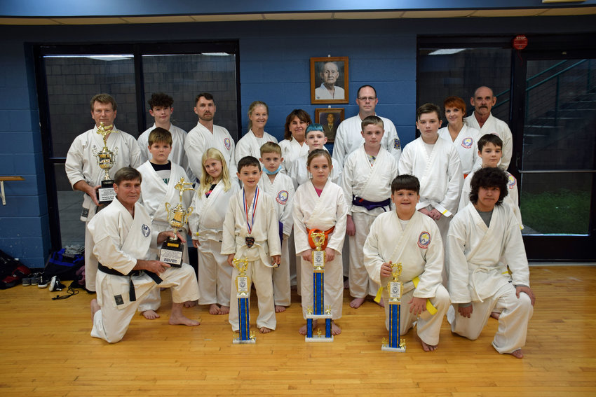 Lewisburg Karate Students bring home trophies from the 19th Annual C.T. Patterson Memorial Championship.