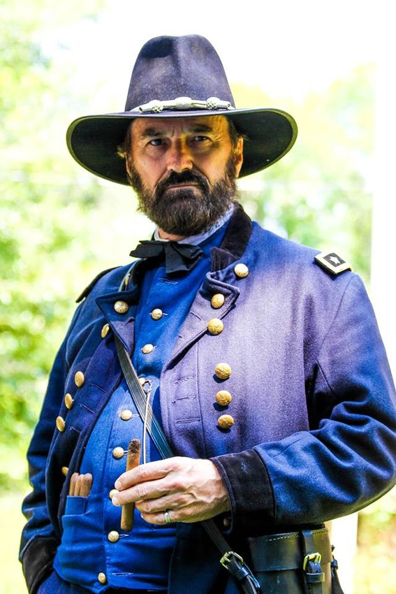 Curt Fields has taken up the character of Ulysses S. Grant more than 1,000 times in 10 years. [Submitted photo]