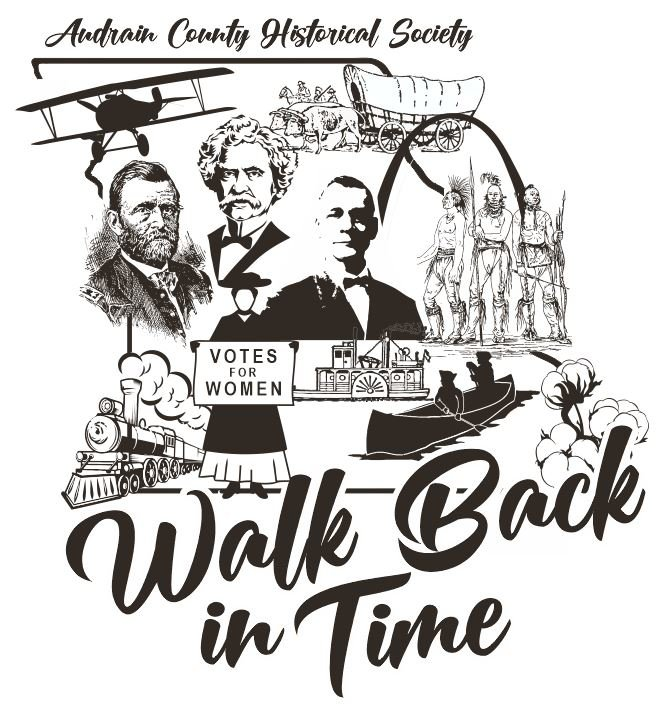 Here's the design for the 2021 Walk Back in Time t-shirt. Shirts will be available at the festival for $12. [Submitted Photo]