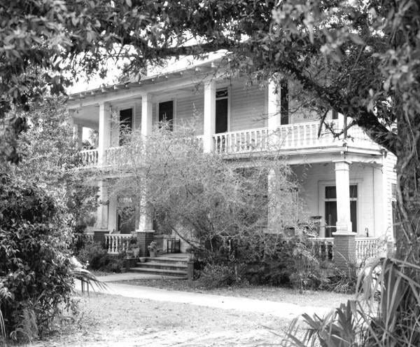 The Chapman House, photographed in Feb. 1961.