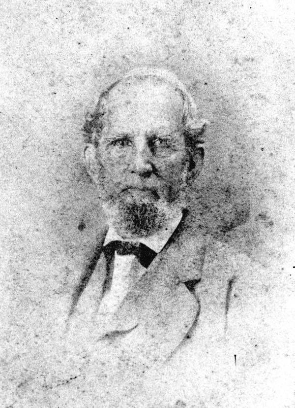 David G. Raney, pictured about 1860