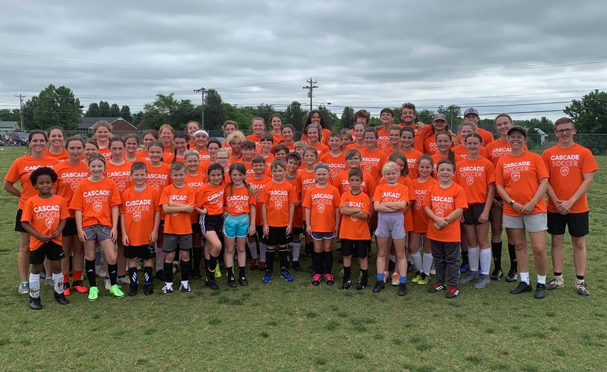 Cascade High School hosted a youth soccer camp June 7-10 with two sessions that focused on building basic soccer skills and teamwork.