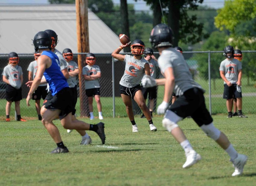 Cascade competed in 7-on-7's, including a tournament at Shelbyville Central before heading into the dead period.