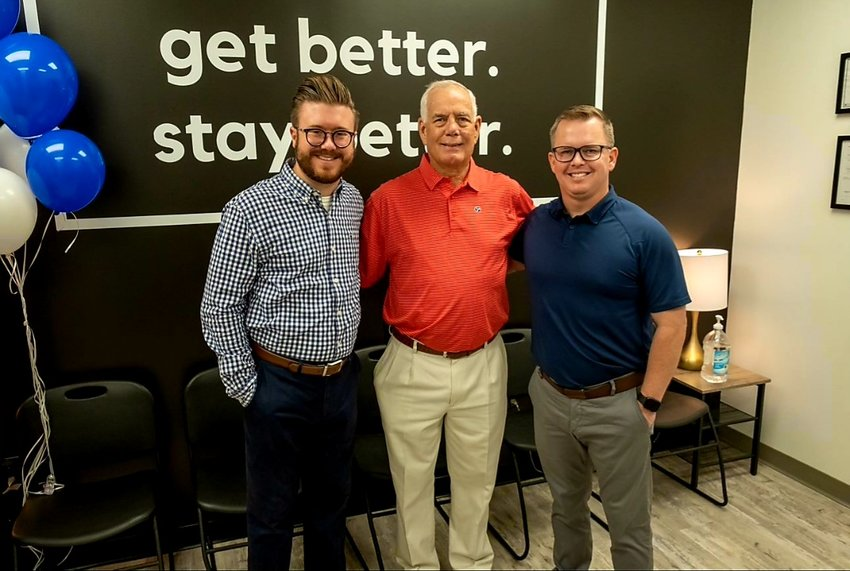 State Rep. Pat Marsh, was present at Cedar Recovery's recent ribbon cutting, along with Chief Strategy Officer Paul Trivette, left, and CEO Joe Bond.