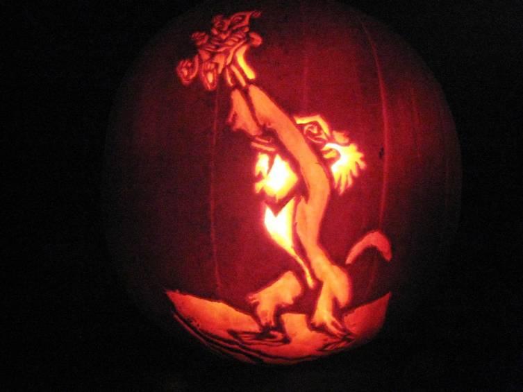 Lion King Pumpkin lion king pumpkin carving lion