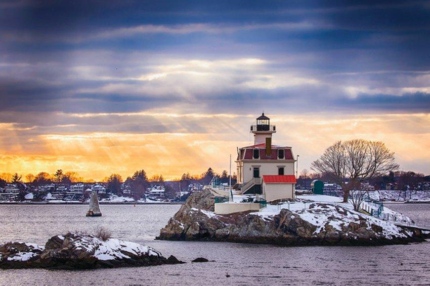 """February Snow Sunrays"" by Hillary Gillinder of Warwick"