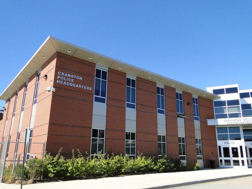 Cranston Police Headquarters.