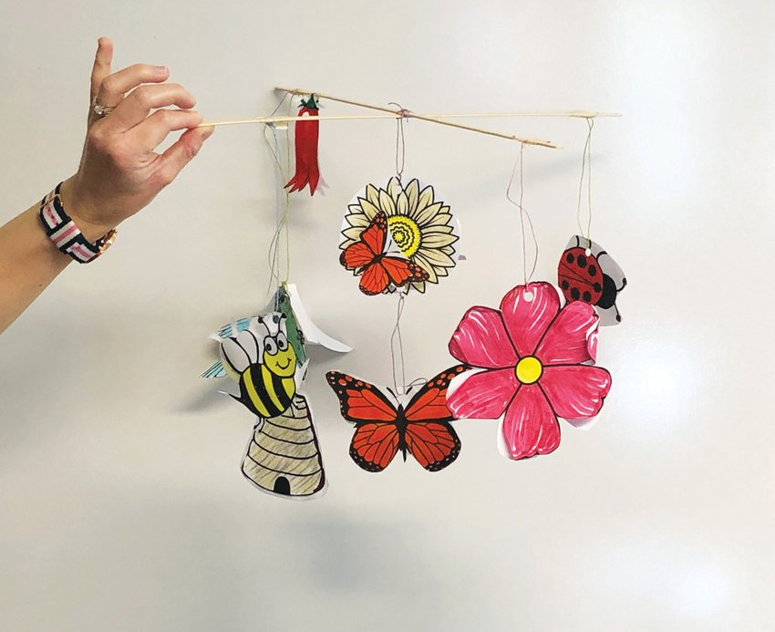 BIG BUGS: Making a Pollinator Mobile is one of the craft programs coming to Green Animals Topiary Garden in Portsmouth.