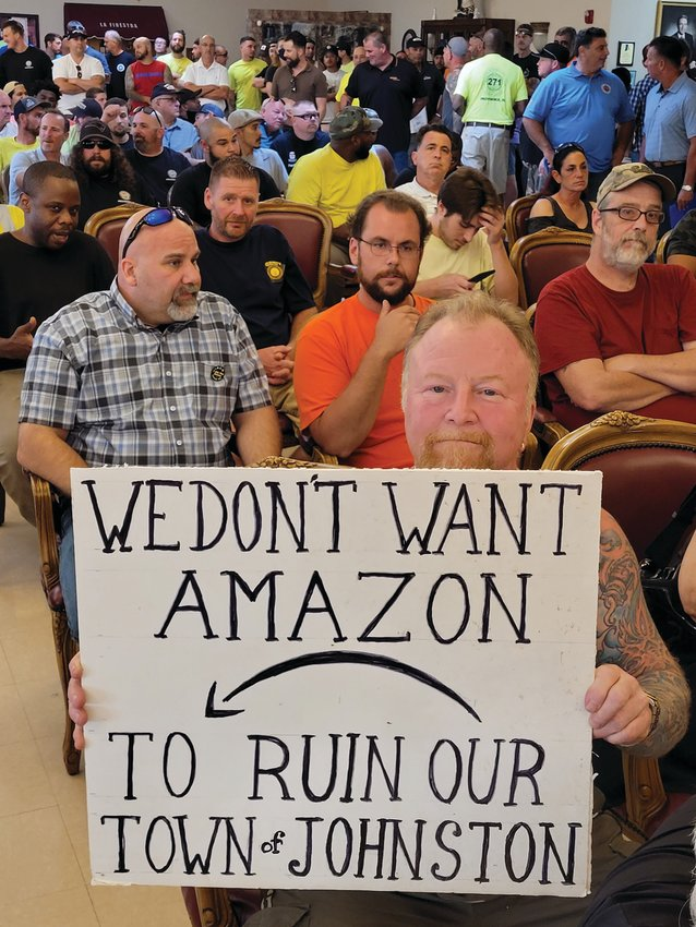 GIANT STRIDE: Red Godin, a Johnston resident and owner of Giant Stride Dive Shop in Warwick, opposes the project.