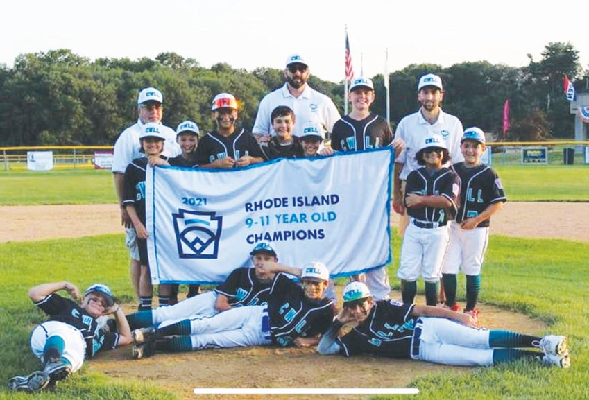 STATE CHAMPS: The Cranston Western 11's after winning the state championship. (Submitted photo)