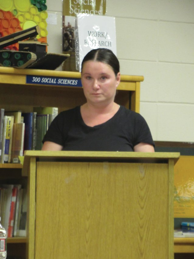 PARENTAL CHOICE: Several Johnston parents, including Jennifer Hall, helped convince the Johnston School Committee to vote unanimously to make masks optional for students when the new school year begins.