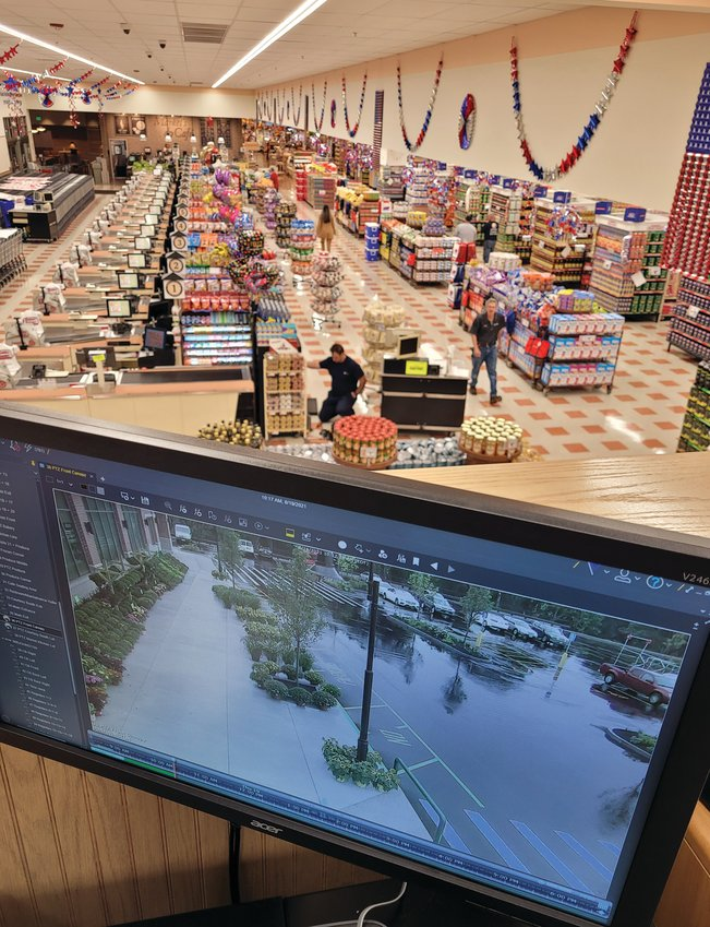 The Johnston Market Basket will open its doors to the general public for the first time at 7 a.m., Friday, Aug. 20. Employees readied every square inch of the massive store throughout the day Thursday.