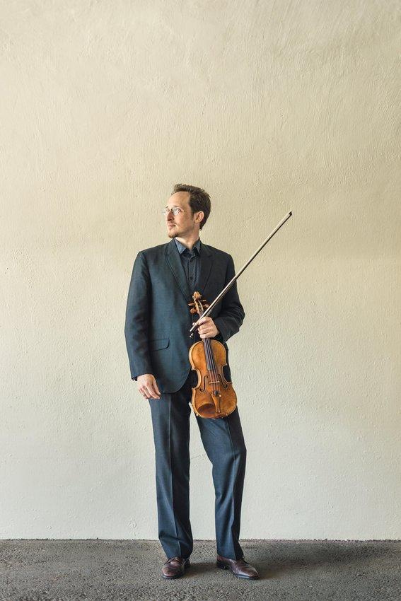 Evan Price, solo violin