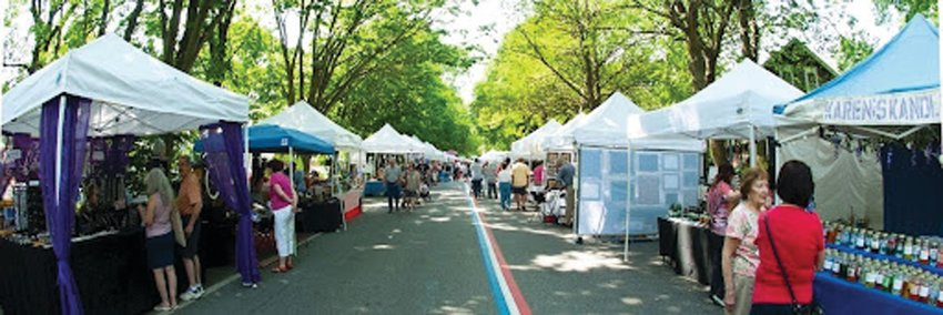 BACK IN ACTION: The Gaspee Days Arts & Crafts Festival is typically held on Memorial Day weekend, but this year, it's being combined with the annual Block Party as part of a larger Fall Festival event.