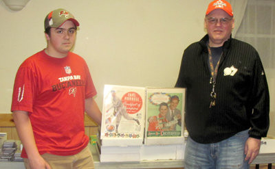 16 Year Old Salesman Makes His Mark At Card Show Cranston Herald
