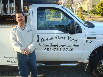 John DiMauro Jr. of Ocean State Vinyl Home Improvement can handle all your home improvement needs.