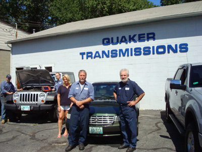 You can feel confident that the staff at Quaker Transmissions will make sure your vehicle leaves their shop in great running condition whether it's your family vehicle or a performance application.