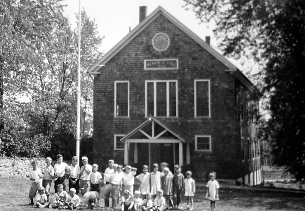 MEMORIAL HALL: St. Paul's Lutheran Church was too far away from its parishioners in Pontiac, so the church built Memorial Hall in 1898 as a community center in the mill village. Famed Swedish tenor Jussi Bjorling sang there as a 9-year-old boy in 1920.