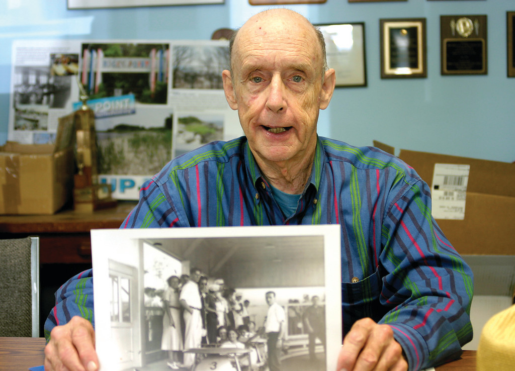 COASTING ALONG: Retired music teacher John Caruthers has been collecting stuff about roller coasters and amusement parks since he was a child growing up in Mississippi.