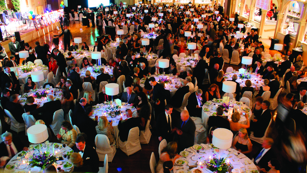 A FANTASTIC TURNOUT: Not including volunteers, 730 people attended the Tomorrow Fund's 24th annual Fantasy Ball.