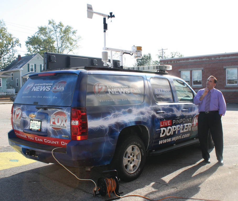 Weather Mobile pays a visit to Chester Barrows | Cranston Herald