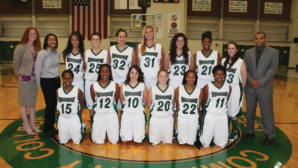 NEW LOOK: The CCRI women's basketball team has just one returning player from last year, but the newcomers are rapidly improving.