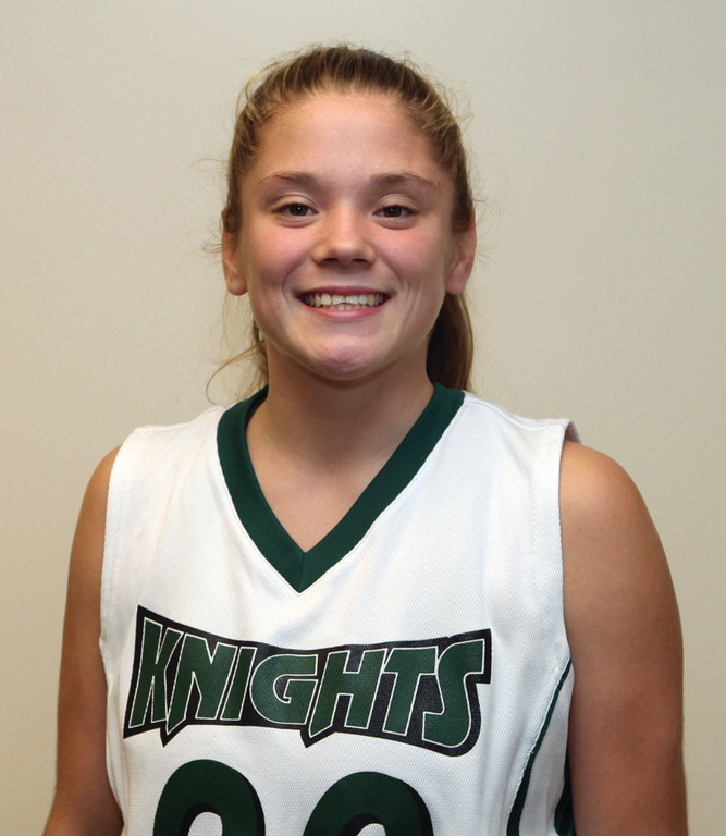 Warwick's Jess Arnold is a freshman on the CCRI women's basketball team.