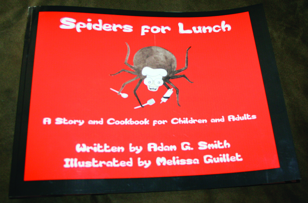 A CREEPY NEW BOOK FOR KIDS: Spiders for Lunch combines creative new recipes with a rhyming story, perfect for kids and adults alike.