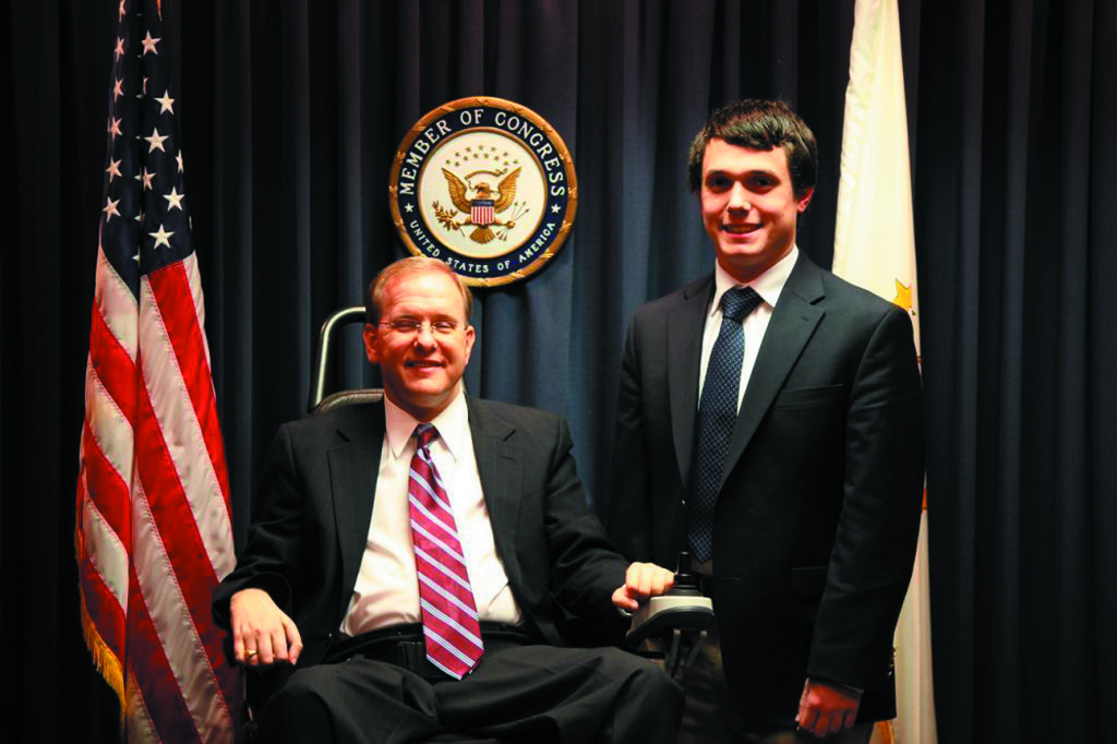 PROUD NOMINEE: Keith Schneider, 18, a senior at Bishop Hendricken, has been selected to enter the U.S. Military Academy at West Point, New York, one of the world's top leader development institutions. After an in-depth review, Congressman Jim Langevin recently announced him as the nominee.