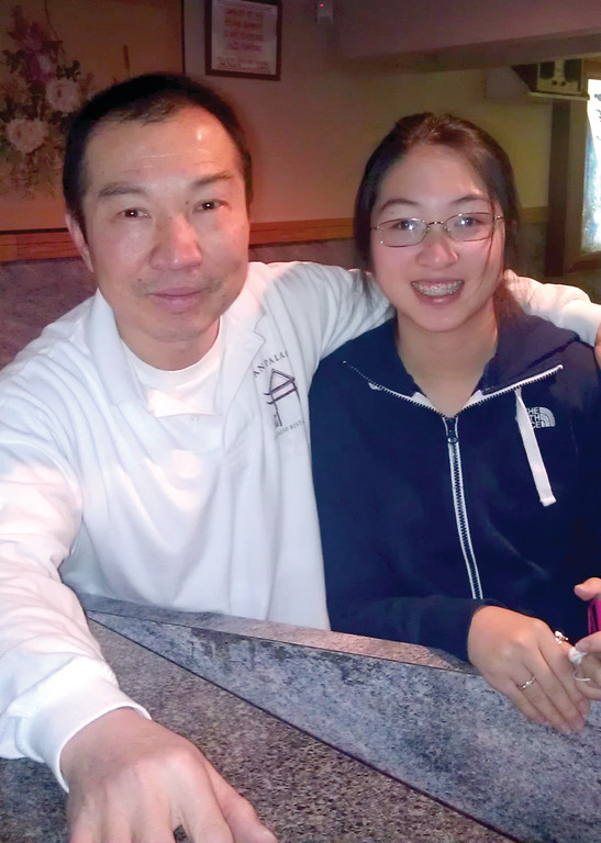 YEAR OF THE DRAGON: To celebrate the Chinese New Year, which kicked off yesterday, Han Palace manager Keith Lau and his daughter, Jamie, 14, a freshman at Toll Gate High School, talked about holiday rituals, as well as their favorite parts of the 15-day celebration.