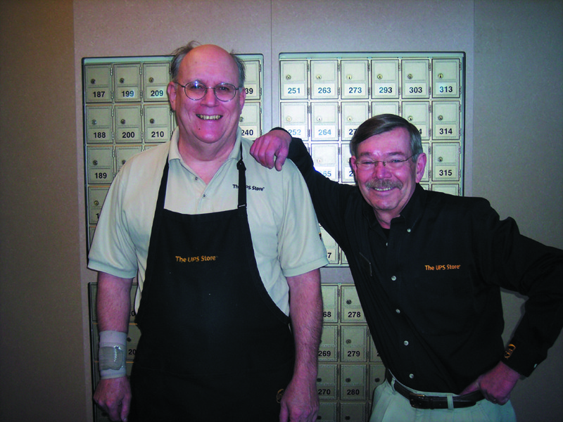 Meet Greg and Ken, ready to explain all the protection and benefits that come from using one their secure convenient mailboxes.