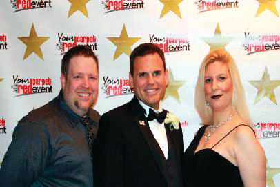 HONORABLE MAYOR: One of the first Your Red Carpet Events that Warwick residents Marc Doane and Cindy Moreau hosted was the Inauguration of Malden Massachusetts Mayor Gary Christenson in January.