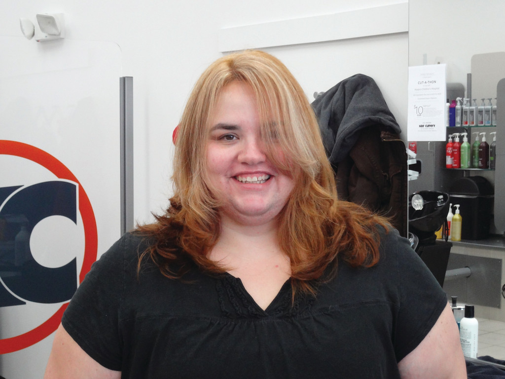 Schey Wins Valentines Day Makeover From Hair Cuttery Johnston Sun