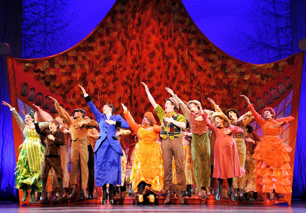 "The National Tour Company of ""Mary Poppins."""