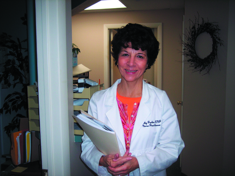 Kathy Parker, R.P.N., M.S.N. offers her personal style of care to patients of all ages.