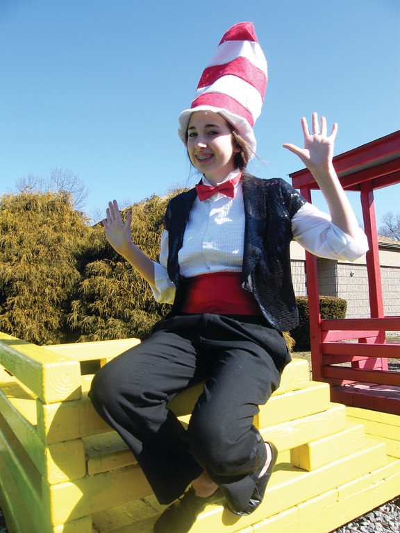 STAR OF THE SHOW: The Cat in the Hat will be played by 13-year-old Lauren Keenan.