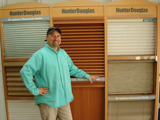 Meet Harris Alkins of Harris Blinds & Shutters, providing the highest level of professional advice, personalized service - and even free installation.