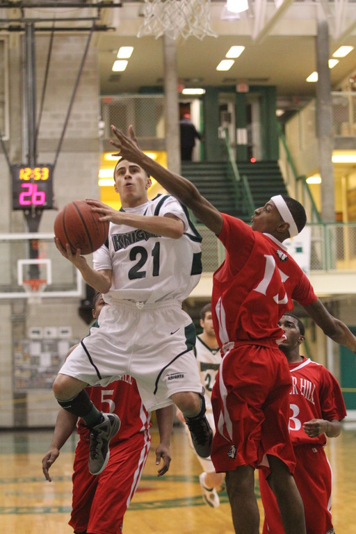 FLYING: Fromer Cranston West star Bryan Yarce is one of the many reasons to go watch the CCRI men's basketball team.