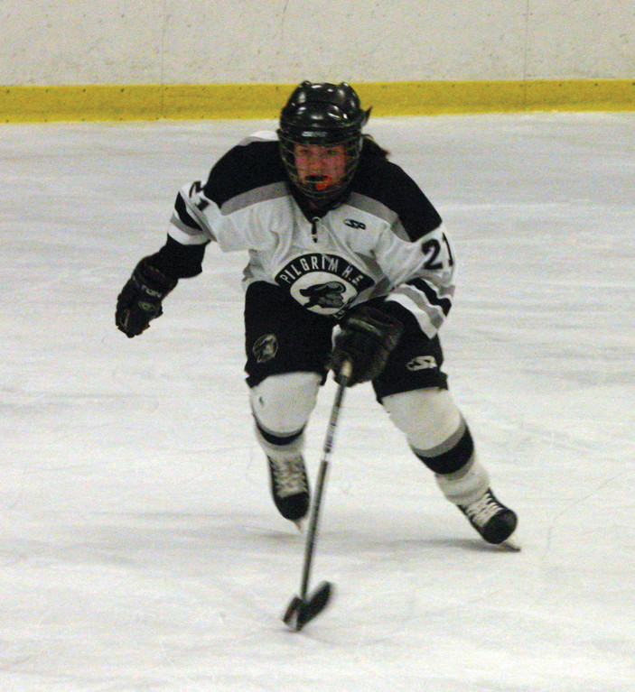 Pilgrim's Susie Cavanagh was chosen as a Hobey Baker Award recipient.