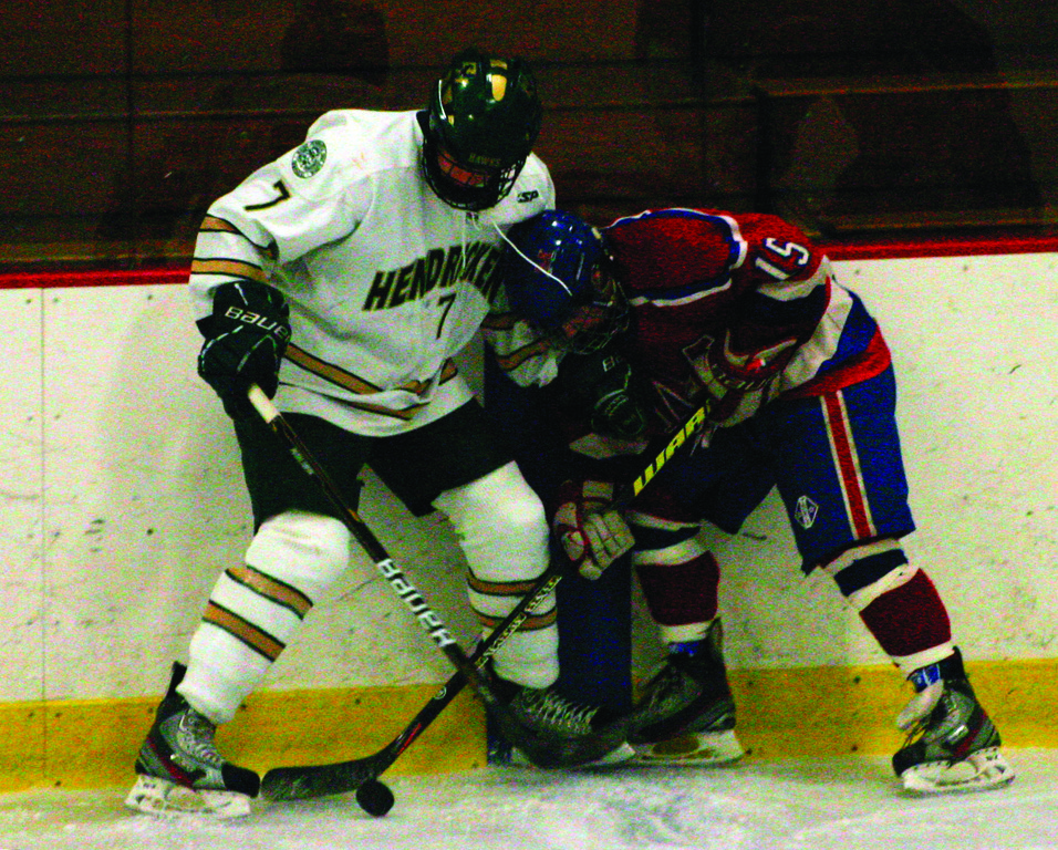 Hendricken's Dan Nolte is one of several winners of this year's Hobey Baker Award.