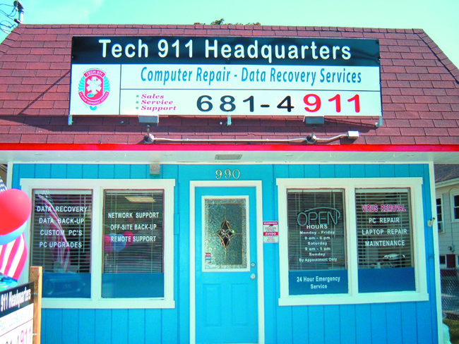 Tech 911 in Warwick for all your home and business computer needs.