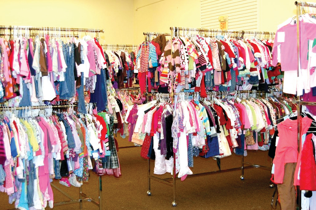 TICKLED PINK: The Rhode Island Kids Consignment sale will feature thousands of items for boys and girls of all ages. Two moms, Christine Wilford and Mary-Lyn Siderski, started the sale.