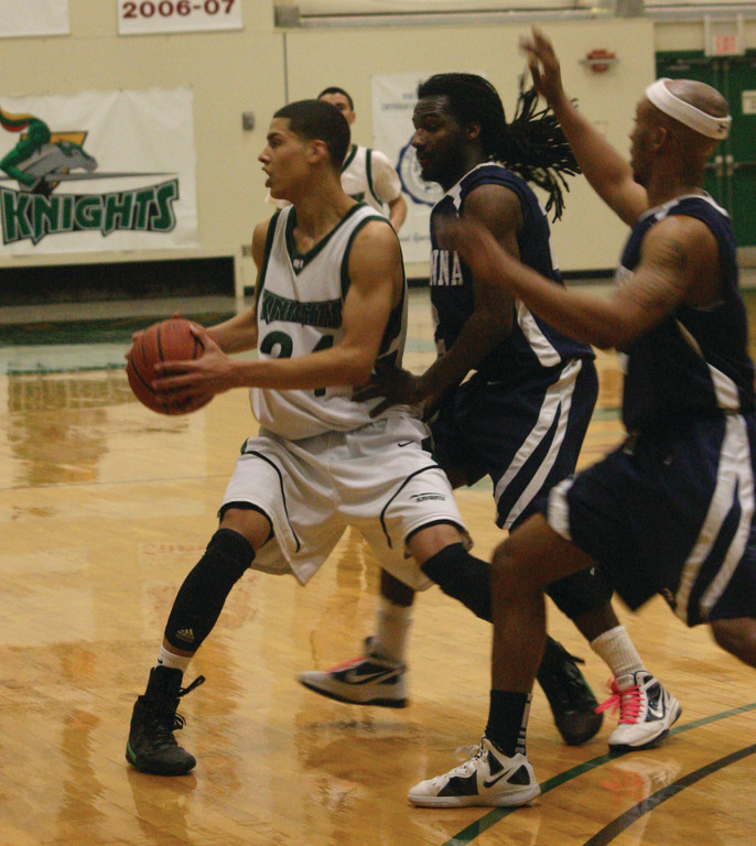 WILD RIDE: Desmond Williams, pictured earlier this year, earned all-tournament honors as CCRI took second at nationals.